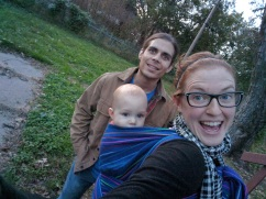 Babywearing is such a life-saver